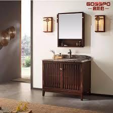 solid wood mahogany bathroom floor