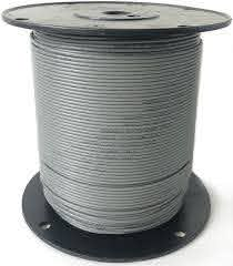 Dog Fence Wire Boundary Cable Diy Grey 300m Hidden Fence