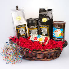 coffee gift basket for corporate or