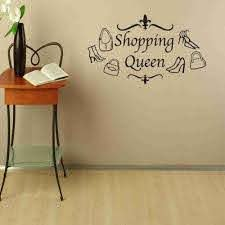 Shopping Queen Wall Decal Style And Apply