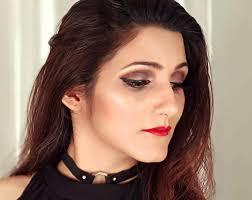 black dress makeup saubhaya makeup