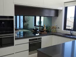 mirrored splashbacks grey bronze or