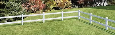 Amazon Com Outdoor Essentials White Vinyl 2 Rail Ranch Fence End Post 5 In X 5 In X 5 Ft Garden Outdoor