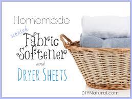 homemade fabric softener and homemade