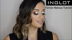por formal makeup tutorial inglot