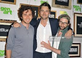 "Aaron Himelstein, Ryan Eggold and Dov Tiefenbach attend the ""The ..."