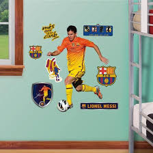 Fc Barcelona Lionel Messi Junior Wall Decal Sticker Wall Decal Allposters Com
