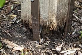 Post Buddy Pack Of 8 Fence Post Repair S Buy Online In El Salvador At Desertcart