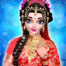 royal indian wedding bride dress up and