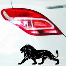 1pc Pet Removable Lion Car Body Decal Car Stickers Motorcycle Decorations Buy At A Low Prices On Joom E Commerce Platform