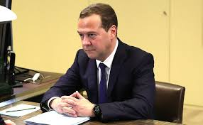 Working meeting with Prime Minister Dmitry Medvedev • President of Russia