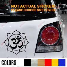 Lotus Om Yoga Symbol Car Decal Sticker Vinyl Buddhism Buddha India Die Cut No Background Pick Color And Size Buddha India Car Decal Stickersticker Vinyl Aliexpress