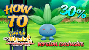HOW TO GET Oddish in Pokémon Let's Go Pikachu (& Eevee) - YouTube