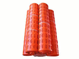 Orange Safety Fence Barrier Types Application For Barriers