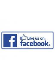 Like Us On Facebook Vinyl Sticker