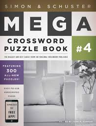 simon schuster mega crossword puzzle