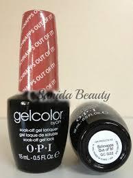 opi germany collection nail polish