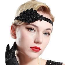 yond 1920s flapper headband crystal