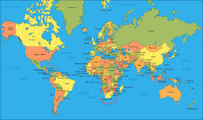 countries map wallpapers top free