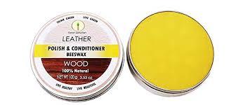 wood leather wax polish 100 gms