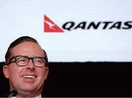 Qantas Airways' gay CEO has pie smashed ...