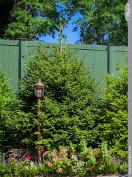Grand Illusions Color Spectrum Forest Green Color Pvc Vinyl Fence Contemporary Landscape New York By Illusions Vinyl Fence