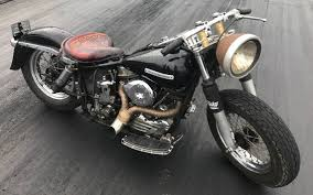 custom leather motorcycle seat with