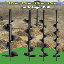 Heavy Equipment Post Hole Digger Attachments For Sale Ebay