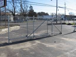 Wholesale Nationwide Supplier Rolling Gate Kit Chain Link Fence
