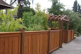 Copper Post Cap Fence Gate Design Fence Design Wood Fence Design