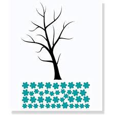 Large Black Tree Wall Decal With Blowing Teal Blue Flowers Best Diy Wall Art Living Room Decor Vinyl Art Sticker Black Teal Walmart Com Walmart Com