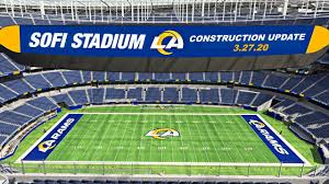 LA Rams Chargers SoFi Stadium ...