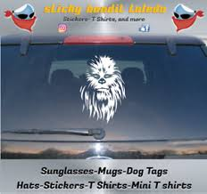 Chewbacca Star Wars Wookie 7 Inch Window Vinyl Decal Sticker Ebay