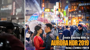 single photo using aurora hdr