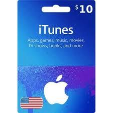 app itunes gift card 10 usd