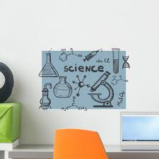 Chemistry And Science Concepts Wall Decal Wallmonkeys Com