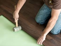 can you add padding under a hardwood floor