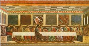 Ultima cena-Andrea del Castagno | Arte rinascimentale, Ultima cena ...