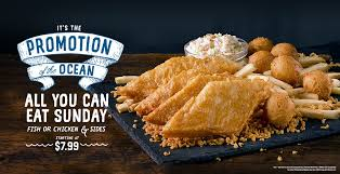 All You Can Eat Sunday starting at $7.99