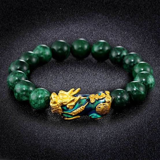 Image result for pixiu green bracelet""