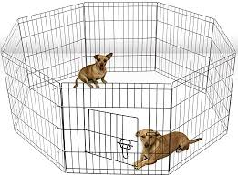 Amazon Com Olymstore Foldable Metal Pet Exercise And Playpen Portable 36 Black Tall Wire Fence Dog Cat Yard 8 Panel Foldable Portable Removable Easily Set Up Space Saving Design Pet Supplies