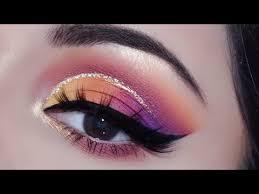 indian bridal eye makeup for sangeet