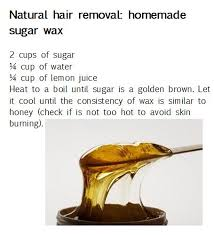 make your own hair removal wax many