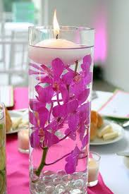 floating candles distilled water