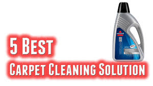 best carpet cleaning solution 2018
