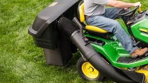riding lawn mower attachments john