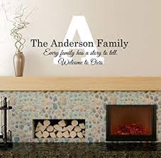 Every Family Has A Story Wall Decal Family Name Family Signs Wall Decals Every Family Quote