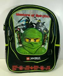 LEGO Ninjago Masters of Spinjitzu 3d Kids Backpack With Tags for ...