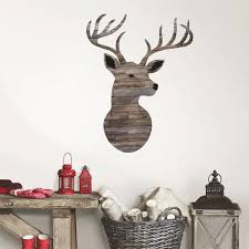 Wall Pops Brown Oh Deer Wall Decal Dwpk2846 The Home Depot