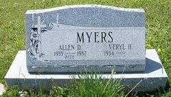 """Allen """"Pete"""" Dean Myers (1935 - 1987) - Genealogy"""
